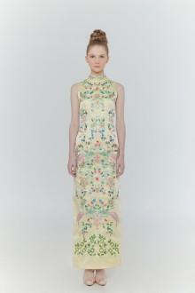 Orient Dress Yellow