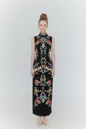 Orient Dress Black