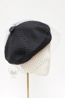 Classic Black beret by ODETTE