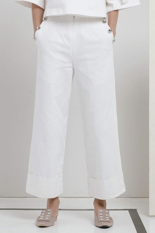 MINETTE PANTS WHITE