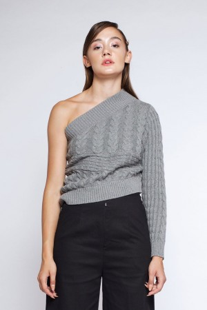 KARLA TOP GREY