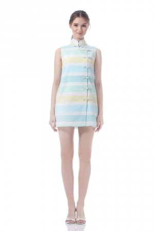 KAMARA DRESS STRIPES