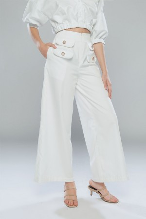 KARISSA PANTS ( white )