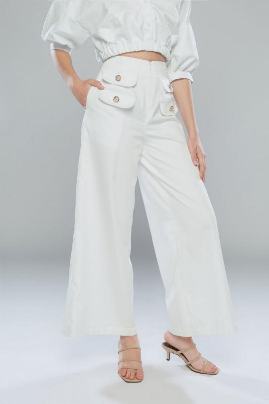 KARISSA PANTS ( WHITE )