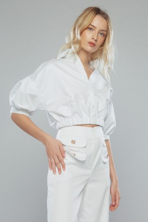 MYNE TOP ( white)