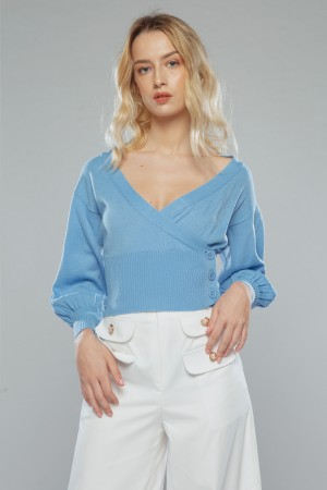 XAVY TOP ( blue )
