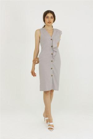 SISS RUFFIE DRESS
