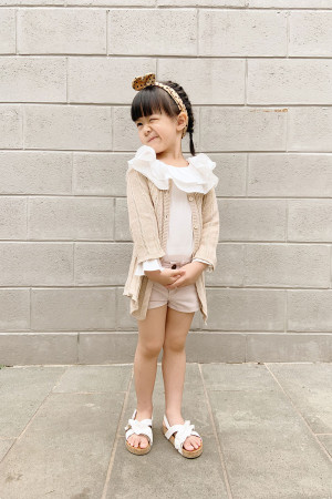 Veena Outer (Beige) Girl