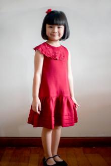 AIMEE RED DRESS GIRL