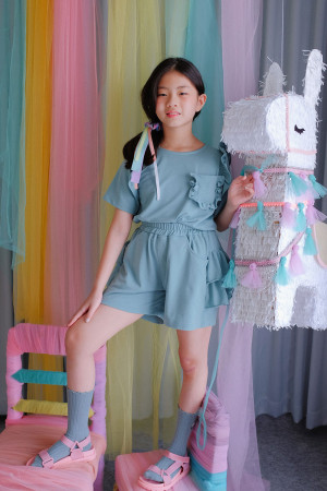 Tabitha Set in Cotton Candy
