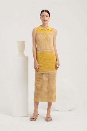 Alouette Dress Earthy